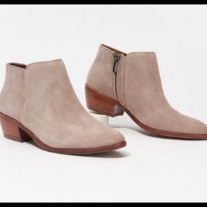 Sam Edelman petty ankle suede booties 9.5 US